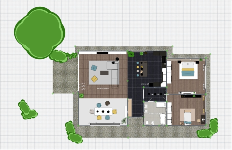 Free Floor Plan Creator To Design 2d