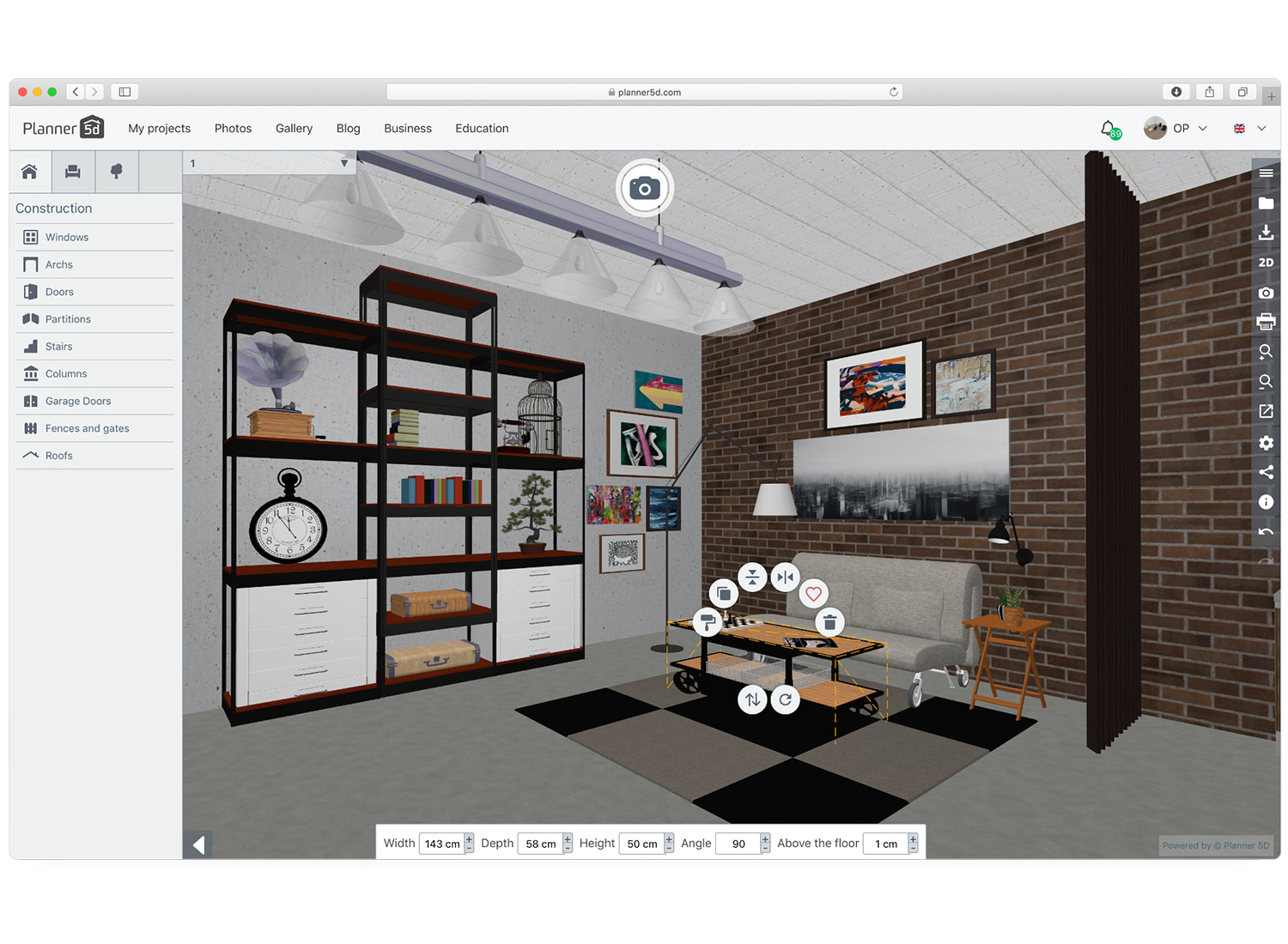 Home Design 3D Online Game