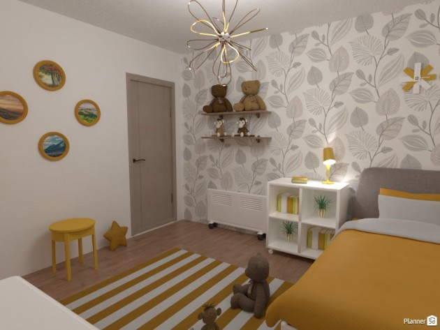 The Best Colors For Kids Rooms That Will Brighten Their Mood - Articles about Beautiful Decor 14 by Anonymous image