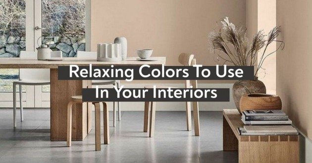 Colors To Use For A Relaxing Interior - Articles about Apartments 1 by  image