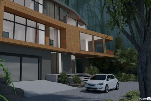 How To Create The Twilight House With Planner 5D - Articles about Architecture 5 by Anonymous image