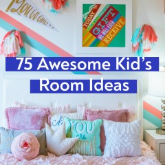 75 Awesome Kids' Room Ideas | Girls and Boys Bedroom Design & Decor Tips