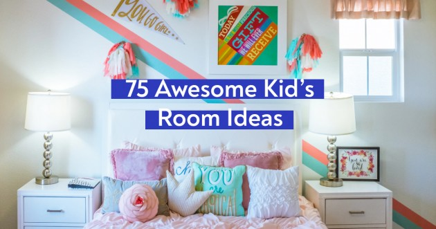 75 Awesome Kids Room Ideas Girls And Boys Bedroom Design Decor Tips Articles About Apartment