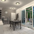 ideas house living room kitchen lighting ideas