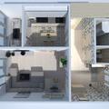 photos apartment house terrace lighting ideas
