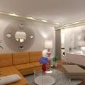 ideas apartment living room kitchen lighting dining room ideas