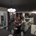 fotos cozinha iluminação cafeterias ideias