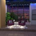 fotos apartamento salón iluminación paisaje ideas