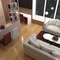 fotos decoración salón cocina comedor ideas