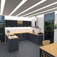 photos maison décoration cuisine eclairage idées
