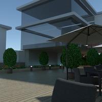 photos extérieur bureau eclairage café architecture idées