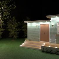 fotos casa decoração área externa iluminação ideias