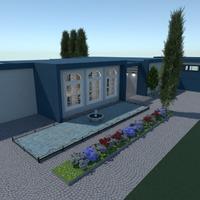 fotos casa área externa patamar ideias
