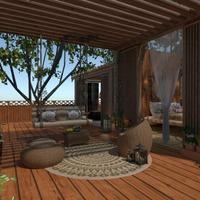 fotos casa área externa paisagismo ideias
