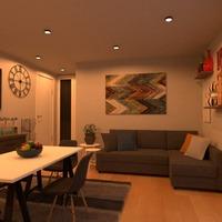 идеи квартира мебель декор гостиная кухня идеи