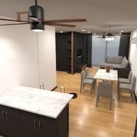 идеи квартира сделай сам гостиная кухня столовая идеи