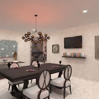 photos maison décoration eclairage maison salle à manger idées