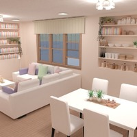 идеи дом декор гостиная столовая идеи