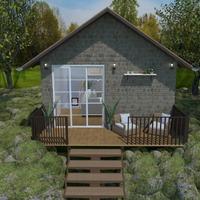 fotos casa decoração área externa ideias