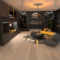 nuotraukos butas dekoras svetainė virtuvė apšvietimas idėjos