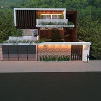 foto casa angolo fai-da-te esterno paesaggio architettura idee