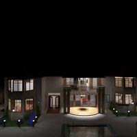 fotos casa exterior iluminación ideas
