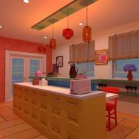 nuotraukos baldai dekoras virtuvė apšvietimas valgomasis idėjos