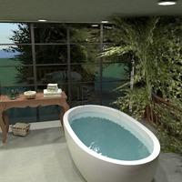 nuotraukos vonia miegamasis svetainė kraštovaizdis idėjos