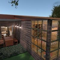 fotos casa varanda inferior mobílias paisagismo arquitetura ideias
