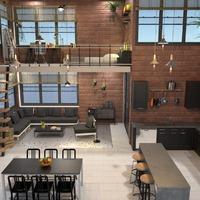 photos appartement décoration salon cuisine salle à manger idées