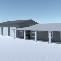 foto casa garage idee