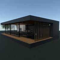 nuotraukos namas terasa eksterjeras аrchitektūra idėjos