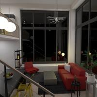foto arredamento decorazioni saggiorno illuminazione monolocale idee