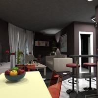 nuotraukos butas svetainė valgomasis idėjos