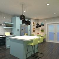 zdjęcia kuchnia oświetlenie jadalnia pomysły