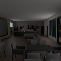 zdjęcia pokój dzienny kuchnia jadalnia pomysły