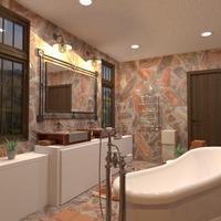 photos décoration salle de bains eclairage idées