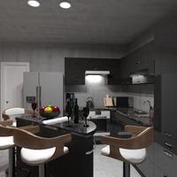 fotos dekor küche beleuchtung café ideen