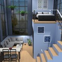 идеи дом декор гостиная кухня столовая идеи