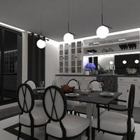 идеи квартира мебель освещение столовая идеи