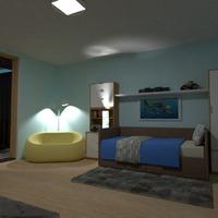 zdjęcia meble pokój diecięcy oświetlenie pomysły