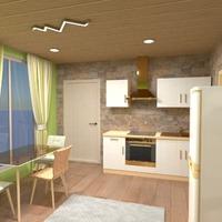 fotos apartamento cozinha estúdio ideias