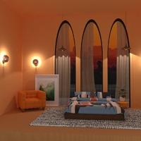 foto appartamento casa decorazioni camera da letto monolocale idee