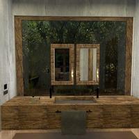 photos maison décoration salle de bains extérieur eclairage idées