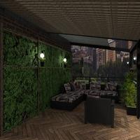 photos appartement terrasse meubles décoration eclairage idées