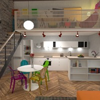 zdjęcia mieszkanie pokój dzienny kuchnia biuro jadalnia pomysły