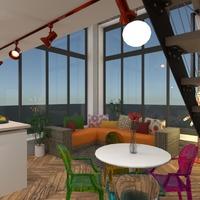 nuotraukos butas svetainė virtuvė biuras valgomasis idėjos