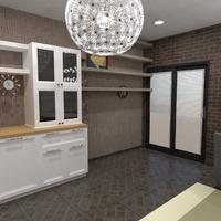nuotraukos baldai dekoras virtuvė valgomasis idėjos