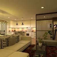 fotos apartamento salón cocina comedor ideas