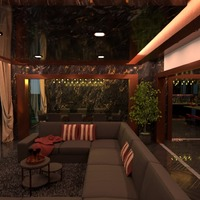 идеи дом гостиная освещение столовая архитектура идеи